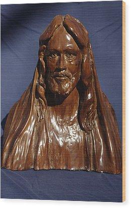 Jesus Of Nazareth Wood Print by Rick Ahlvers
