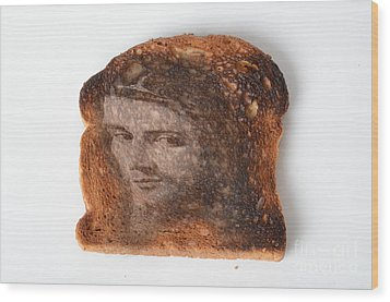 Jesus Toast Wood Print by Photo Researchers, Inc.