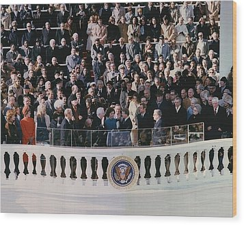 Jimmy Carters 1976 Inauguration Wood Print by Everett