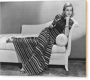 Joan Bennett, Paramount Pictures Wood Print by Everett