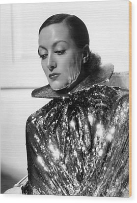 Joan Crawford, 1934, Photo By Hurrell Wood Print by Everett