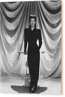 Joan Crawford, Ca. 1940s Wood Print by Everett