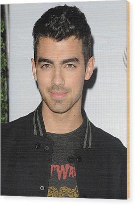 Joe Jonas In Attendance For The 7th Wood Print by Everett