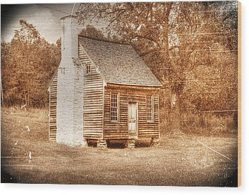 Joel Sweeney Cabin Wood Print by Dan Stone