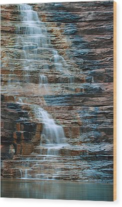 Joffre Gorge - Karijini Np 2am-29568 Wood Print by Andrew McInnes