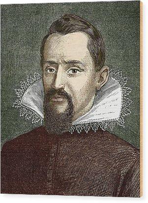 Johannes Kepler, German Astronomer Wood Print by Sheila Terry