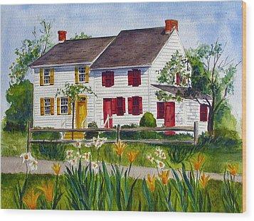John Abbott House Wood Print