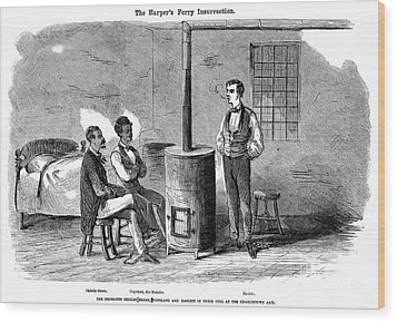 John Brown Raid, 1859 Wood Print by Granger