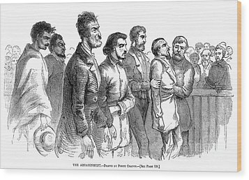 John Brown Trial, 1859 Wood Print by Granger