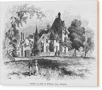John E. Williams Residence Wood Print by Granger