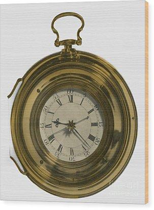 John Harrisons Last Marine Timepiece Wood Print by Science Source
