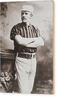 John M. Ward (1860-1925) Wood Print by Granger