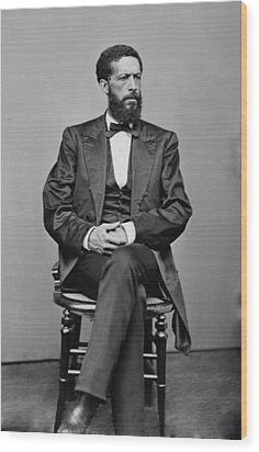 John Mercer Langston 1829-1897, Son Wood Print by Everett
