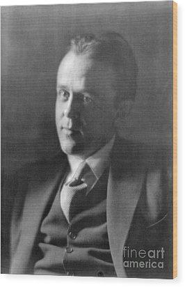 John Reed, American Journalist Wood Print by Photo Researchers