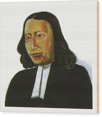 John Wesley Wood Print by Emmanuel Baliyanga