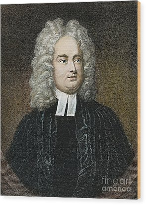 Jonathan Swift (1667-1745) Wood Print by Granger