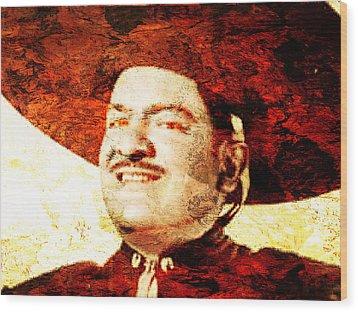 Jose Alfredo Jimenez Wood Print by J- J- Espinoza