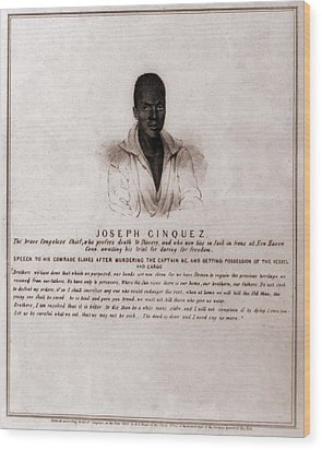 Joseph Cinquez, Lead Fifty-four African Wood Print by Everett