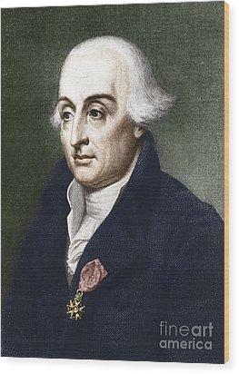 Joseph-louis Lagrange, European Wood Print by Photo Researchers