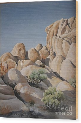 Joshua Tree 1 Wood Print