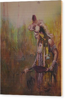 Journey Wood Print by Jerry Frech