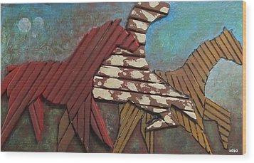 Joy2 Wood Print by Dedo Cristina