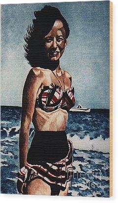 Joyce 1947 Wood Print