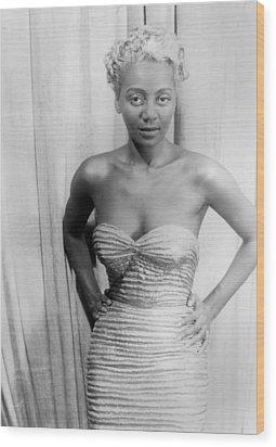 Joyce Bryant, African American Singer Wood Print by Everett