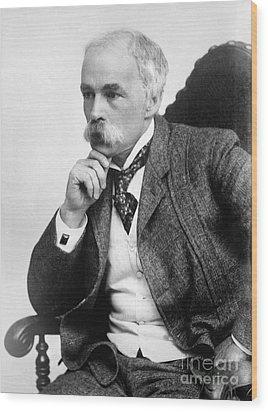 Julian Hawthorne (1846-1934) Wood Print by Granger