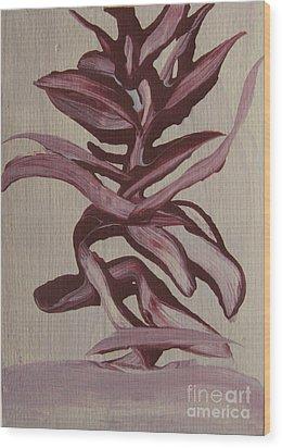 Jungle Pinks Wood Print