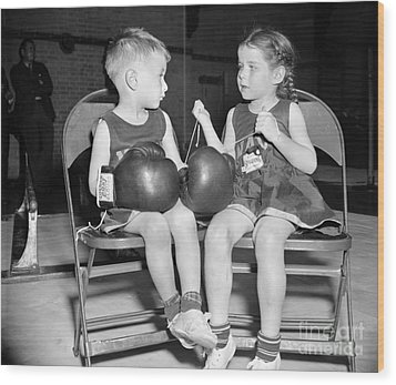 Junior Boxer, 1939 Wood Print by Granger
