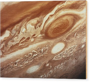 Jupiter Wood Print by InterNetwork Media