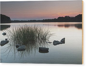 Just Another Sunset Wood Print by Edward Kreis
