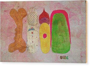 Justina Wood Print