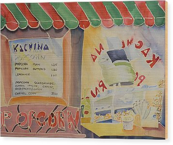 Kachina Popcorn Wood Print