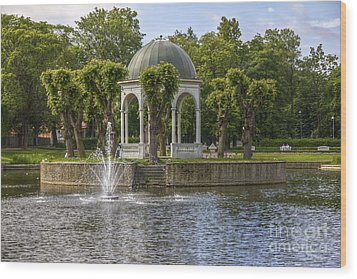 Kadriorg Park 2 Wood Print by Clare Bambers