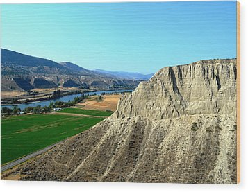 Kamloops British Columbia Wood Print