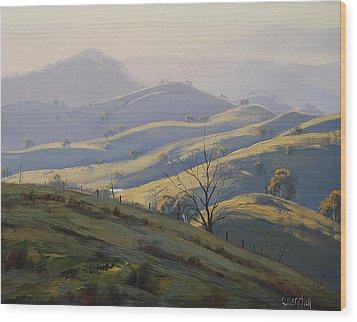 Kanimbla Valley Morning Wood Print by Graham Gercken