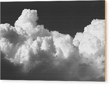 Kansas Thunderheads   Wood Print