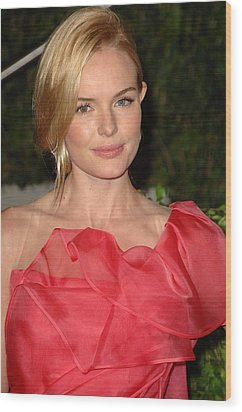 Kate Bosworth At Arrivals For Vanity Wood Print by Everett