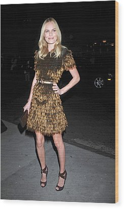 Kate Bosworth Wearing A Burberry Wood Print by Everett