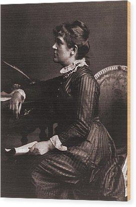Kate Greenaway 1846-1901, A Leading Wood Print by Everett
