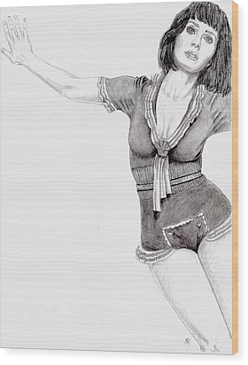 Katy Perry Wood Print by Blake Grigorian