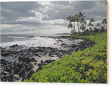 Kauai Afternoon Wood Print by Robert Meyers-Lussier