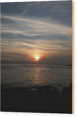 Wood Print featuring the photograph Kauai Sunset by Carol Sweetwood