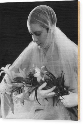 Kay Francis, May 29, 1930 Wood Print by Everett