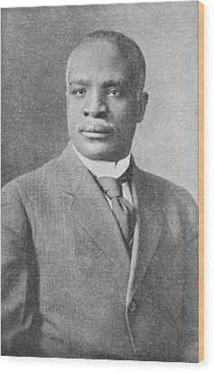 Kelly Miller, Us Mathematician Wood Print by Schomburg Center For Research In Black Culturenew York Public Library