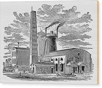 Kentucky: Factory, 1876 Wood Print by Granger
