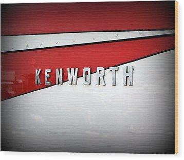 Kenworth Truck Logo Wood Print