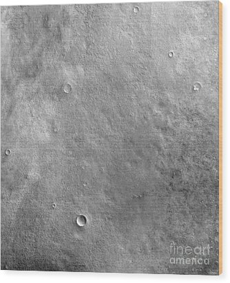 Kepler Crater On The Surface Of Mars Wood Print by Stocktrek Images
